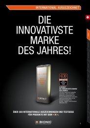 übER 300 INtERNatIoNalE auSzEIchNuNGEN ... - Sport Buck GmbH