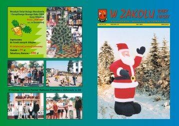 Numer 4/2003 - Gminne Centrum Kultury Czytelnictwa i Sportu w ...