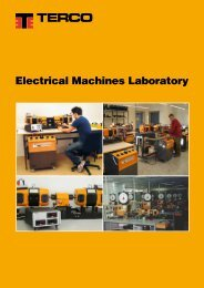 Electrical Machines Laboratory - Terco