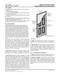 Masonite® HD Steel-Edge High-Definition Steel Entry Doors
