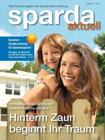 Sommer- Sonderziehung für Gewinnsparer! - Sparda-Bank ...