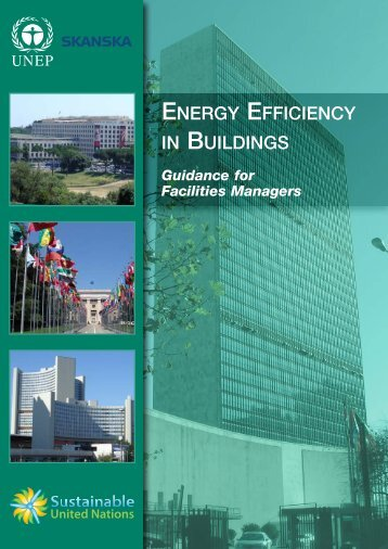 ENERGY EFFICIENCY IN BUILDINGS - Skanska