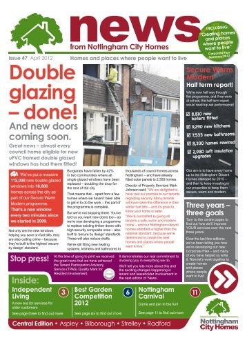 Central edition - Nottingham City Homes