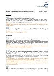 Fragen – Antworten - Architekten- und Ingenieur-Verein zu Berlin eV