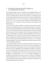 4 Die Berliner Gerichtsmedizin und die Tätigkeit von Victor Müller ...