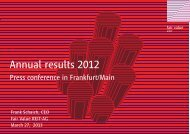 Annual results 2012 - Fair Value REIT-AG
