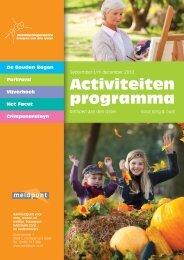 Activiteiten programma