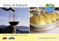 Kultur & Kulinarik - Seeham