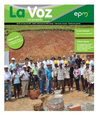 Edición 10 mayo de 2012 - EPM