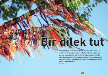 Gezi Yazısı - Bir dilek tut - Bilişim Dergisi