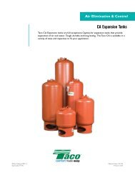 CA Expansion Tanks - Genemco, Inc.