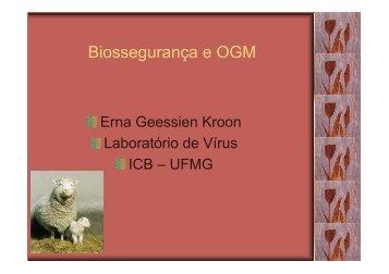 Biossegurança e OGM