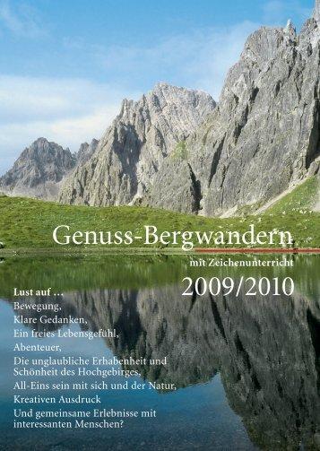 Genuss-Bergwandern 2009/2010