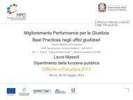 Laura Massoli - Pubblica Amministrazione di Qualità