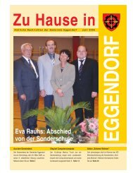 Eva Rauhs - Gemeinde Eggendorf