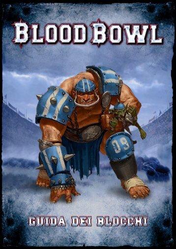 Blood Bowl - Guida dei blocchi - FX Interactive