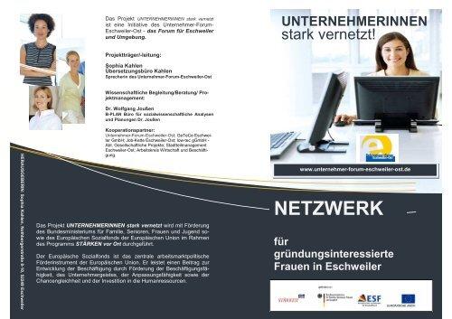 Flyer V final se pdfc - Integration Eschweiler