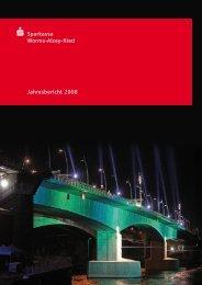 Jahresbericht 2008 s Sparkasse Worms-Alzey-Ried