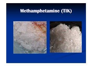 Presentation about Methamphetamine (TIK) - Drug Free Australia