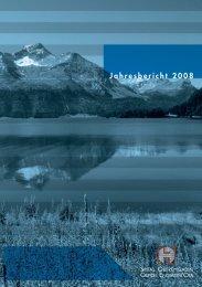Jahresbericht 2008 - Spital Oberengadin