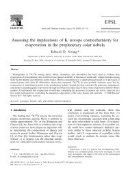 Assessing the implications of K isotope ... - ResearchGate