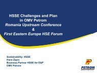 HSSE Working Accidents & Hazards, Results 2011 - Petroleumclub.ro