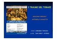 I traumi del torace - Ospedale San Carlo