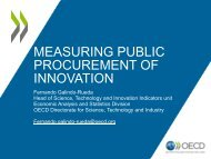Measuring innovation procurement