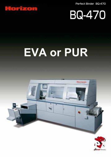 EVA or PUR