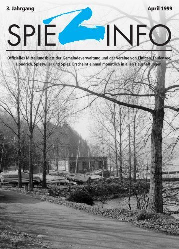 04april spiezinfo99 - in Spiez