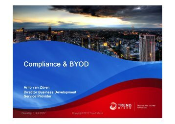 Compliance & BYOD - Trend Micro