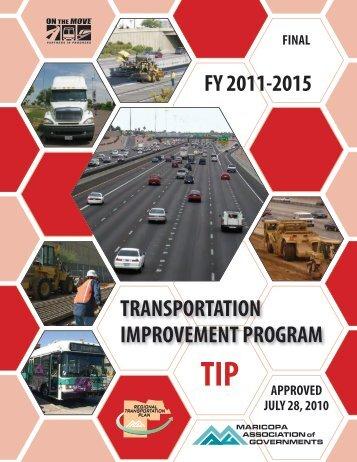 TRANSPORTATION IMPROVEMENT PROGRAM - Maricopa ...