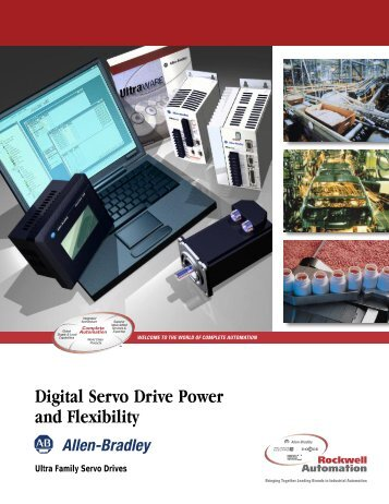 Digital Servo Drive Power and Flexibility