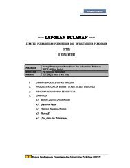 laporan laporan bulanan - Ditjen Cipta Karya