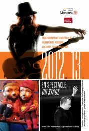 On stagE - Accès culture