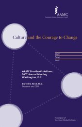 Culture and the Courage to Change - Member Profile - AAMC