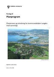 Planprogram kommunedelplan Langøra.pdf - Stjørdal kommune