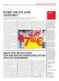klare sache: der winter wird rot! - SPD Niedersachsen - Seite 7
