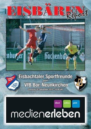 Eisbachtal, Stadionzeitung Ausgabe 05.indd - Eisbachtaler ...