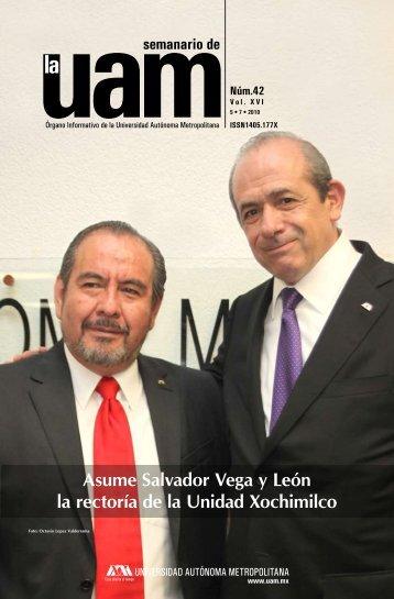 Asume Salvador Vega y León la rectoría de la Unidad Xochimilco