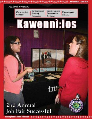 Kawennì:ios Newsletter - Onerahtókha / April 2012 - Saint Regis ...
