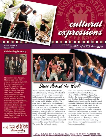 February 2009 - Holmes Cultural Diversity Center