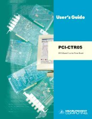 PCI-CTR05 User's Guide