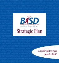 Strategic Plan - Bastrop Independent School District