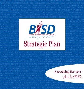 Strategic Plan - Bastrop Independent School District