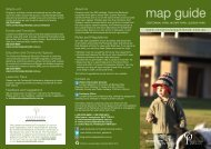 map guide - Centennial Parklands
