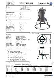 Pumpdaten Typ DNM22 - Landustrie
