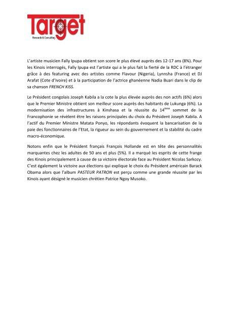 Veuillez cliquer ici pour lire la version PDF - mediacongo.net