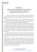 Sprawozdanie z realizacji Programu Współpracy za 2011 rok. - Page 2