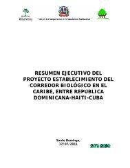 Resumen Ejecutivo Proy Corredor Biologico CBC SNIP 4000